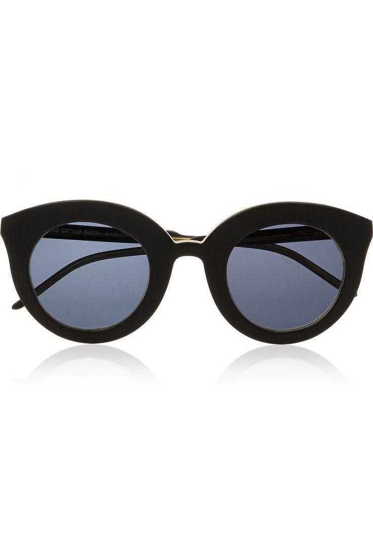 Finds + Kaibosh Song of the Siren cat eye acetate sunglasses