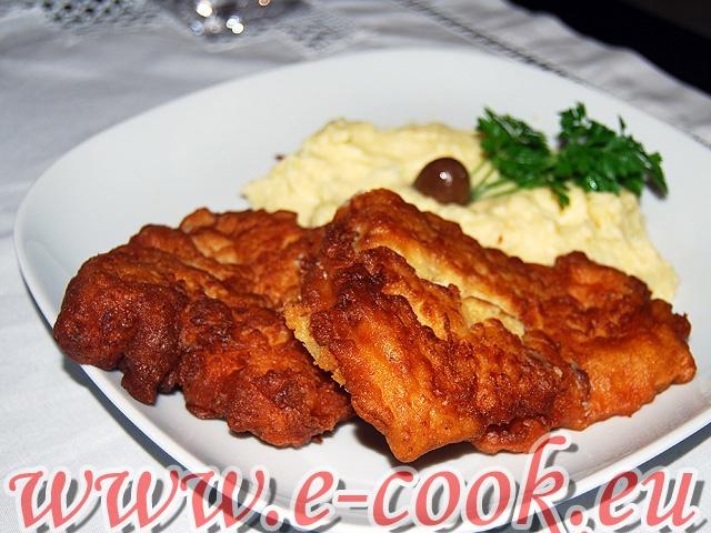 Μπακαλιάρος τηγανιτός. | www.e-cook.gr