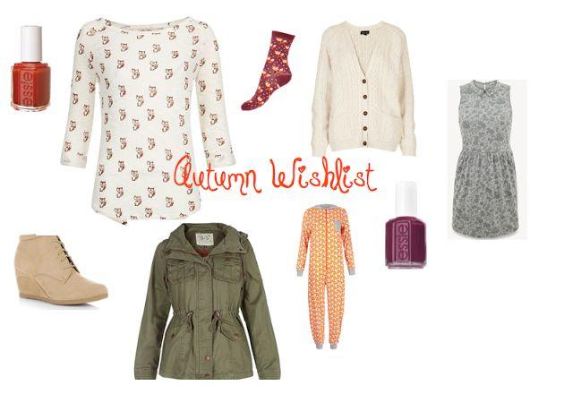 Autumn 2013 wishlist!