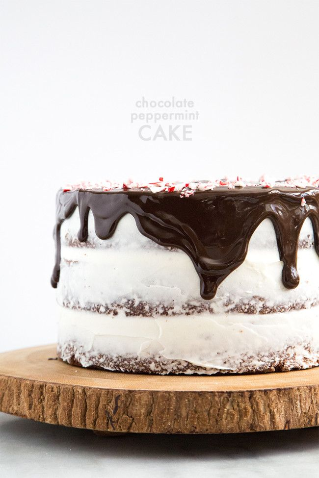 Chocolate Peppermint Cake | The Little Epicurean