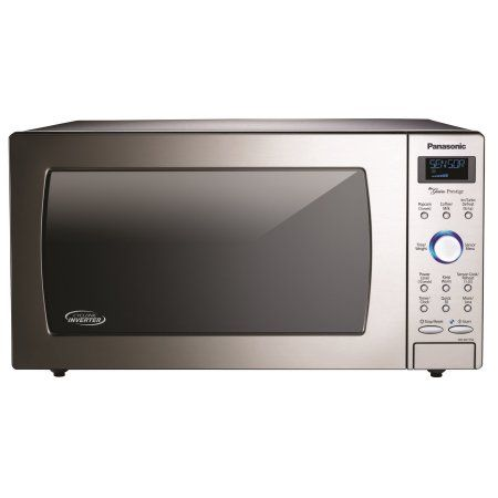 Panasonic 1.6 Cu. Ft. Stainless Microwave with Cyclonic Inverter, Silver
