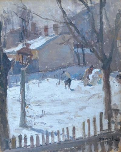 Ipolit Strambu - Iarna in mahala