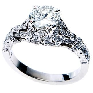 What Do You Think Of This Ring? Antique Style Venetti Engagement Ring