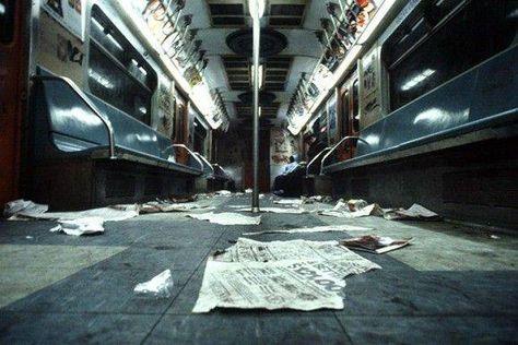 1980年代、ニューヨークの地下鉄が最も危険な公共機関だったころの写真 - グノシー