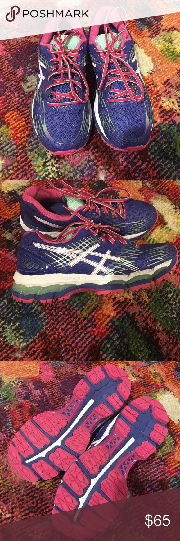 Asics Nimbus T557N Great running sneaker!  Only worn once. Shoes Sneakers
