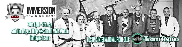 The new banner/flyer for the April 2015 Team Ryano training camp #bjj #mma The line-up will include a couple of Andy's #ufc competitors