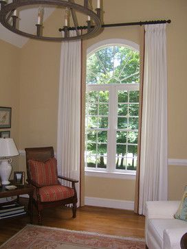 Arched Window Curtains Design Ideas, Pictures, Remodel, And Decor .