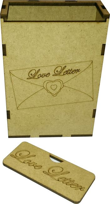 Boardgame / Juegos de Mesa Caja para cartas del Love Letter info: withoutmess.wom@gmail.com