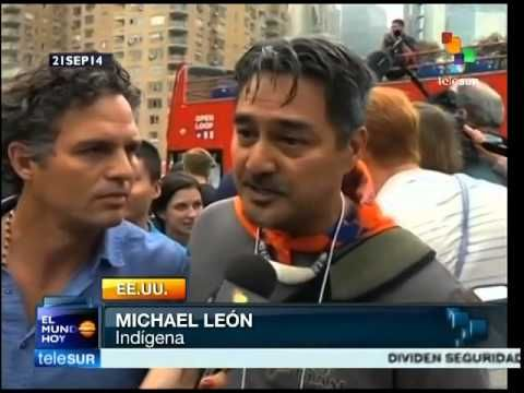 Asisten a marcha de EE.UU. contra cambio climático 310 mil personas