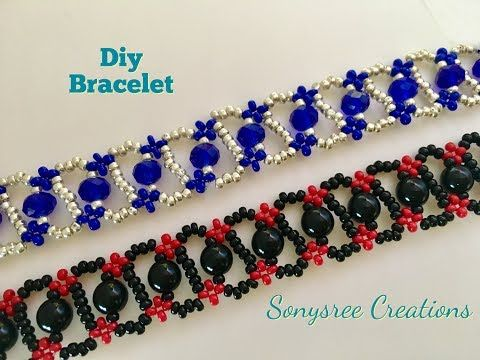 DIY bracelet, Simple and Easy Tutorial - YouTube