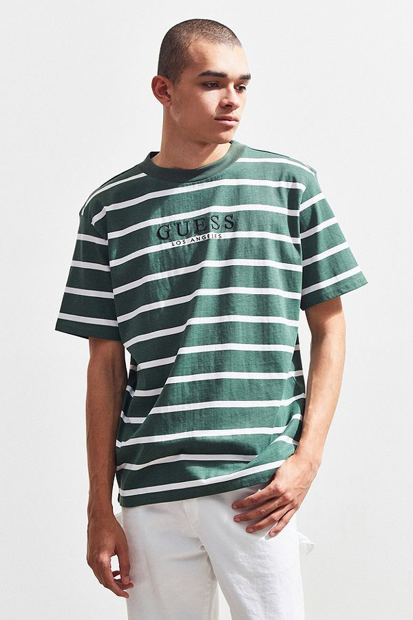 price reduced new arrival latest trends GUESS St. James Stripe Tee | closet in 2019 | Striped tee ...