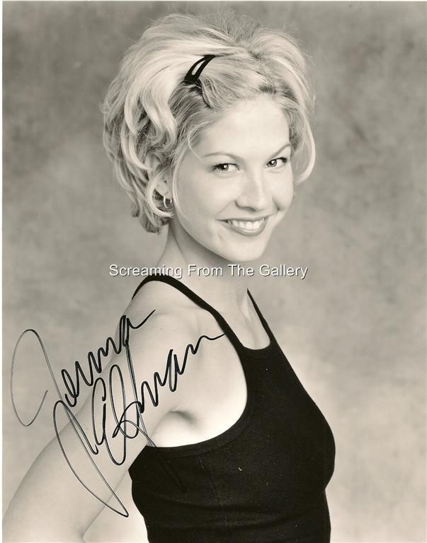 Jenna Elfman Hand Signed Autographed Photo Dharma And Greg
