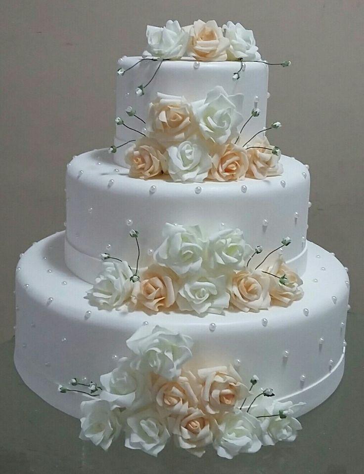 Ich wünsche Ihnen alles Gute zum Hochzeitstag, Meenu di nd Anish jijaji   – Cake