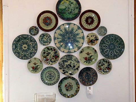 Plate Wall Decor 31 best decorating with trays, plates and melamine images on