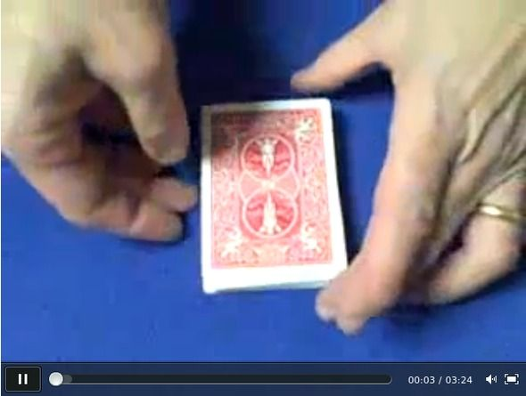 A great magic trick to try - one day I'll try to figure out the maths!