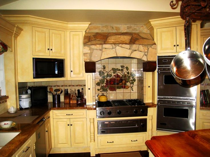 tuscan budget decorations | Decorating tuscan style kitchens5