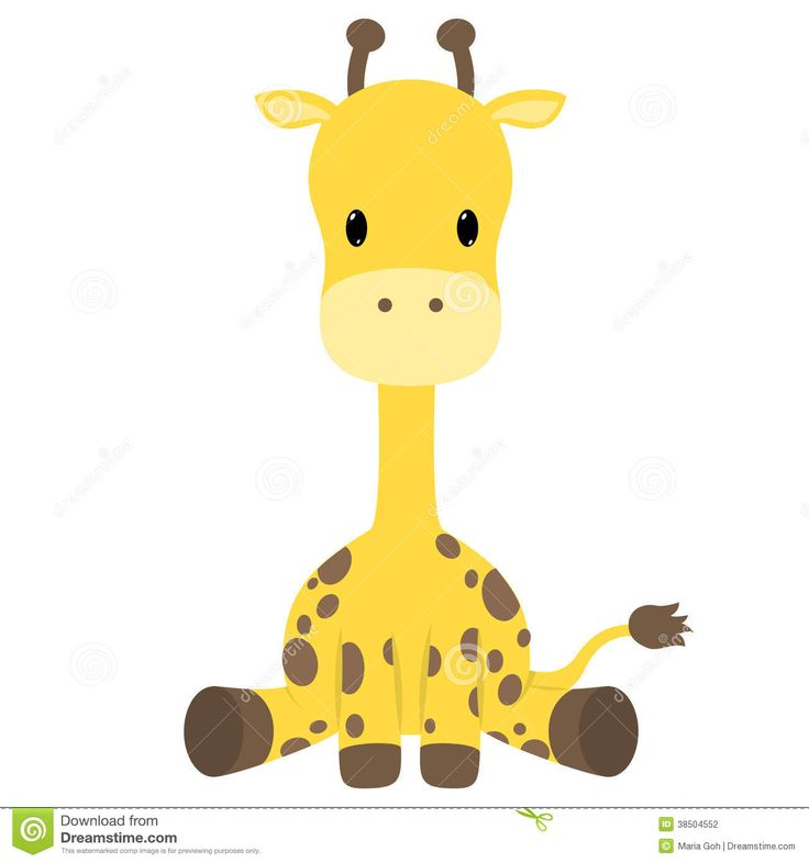 clipart baby giraffe - photo #7