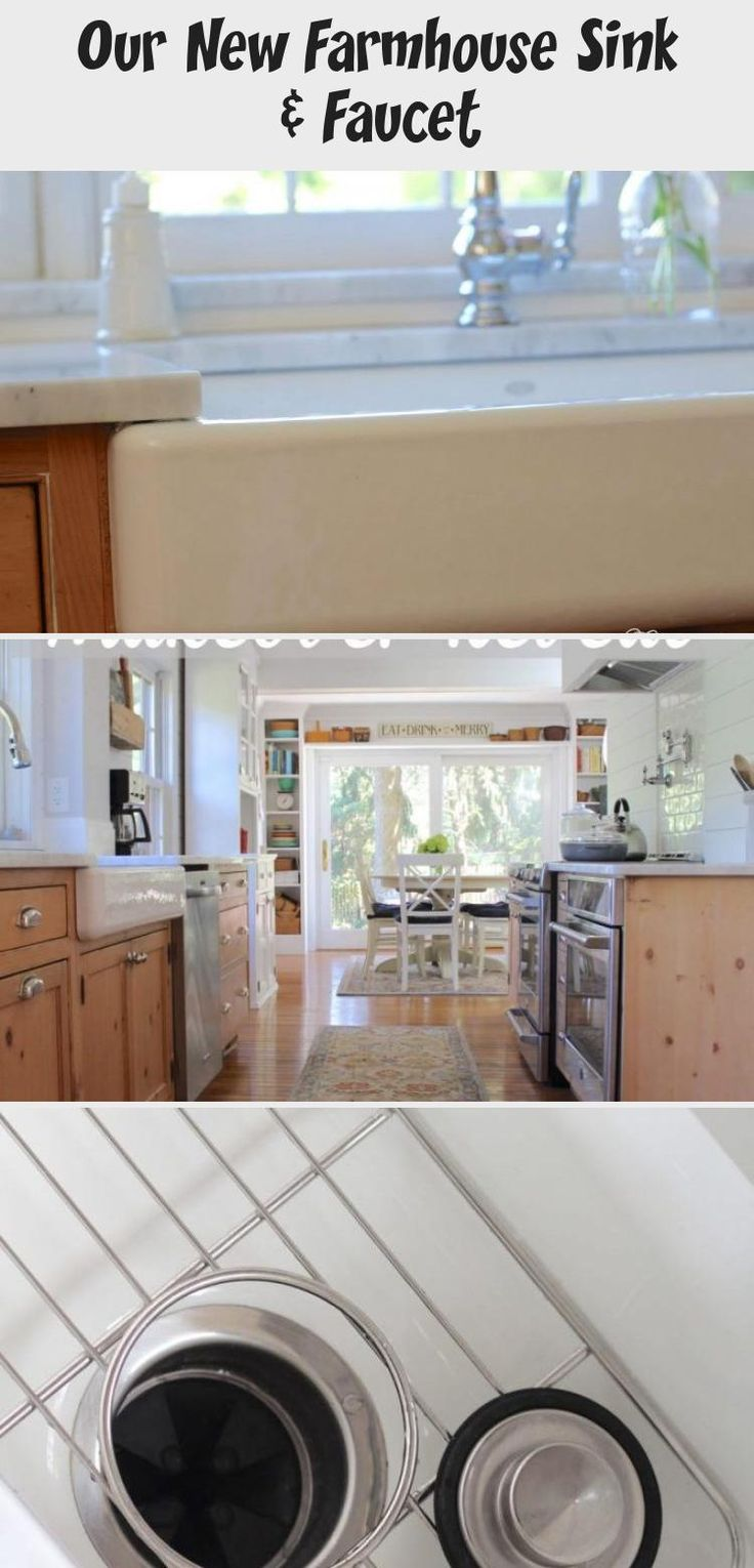 I am sharing our new farmhouse sink and faucet