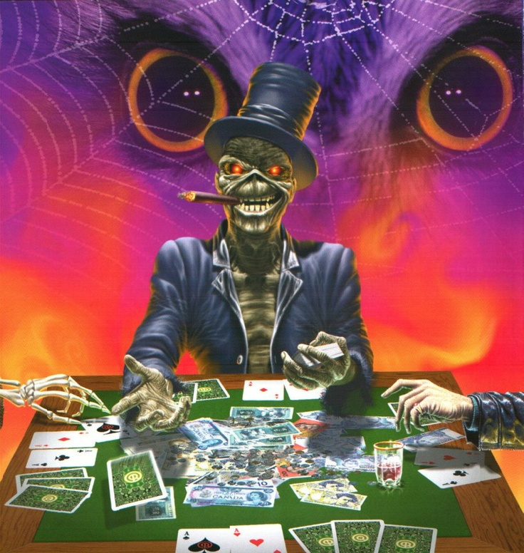 The Angel and The Gambler (1998)  Ilustração: Derek Riggs