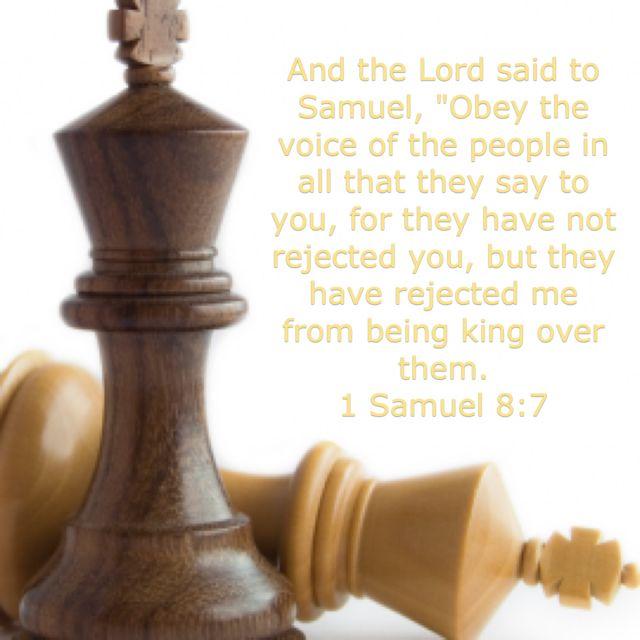 1 Samuel 8:7