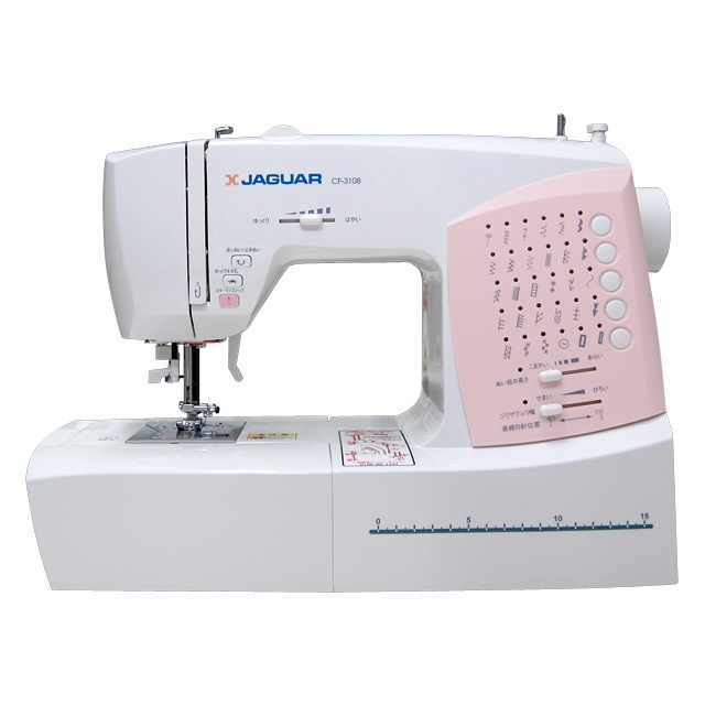 コンピュータミシン CF-3108| Computerized Sewing Machine CF-3108| #JAGUAR #sewingmachine