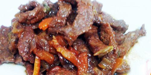 Tiras de Ternera con verduras | Recetas de Cocina - cocinar facil online