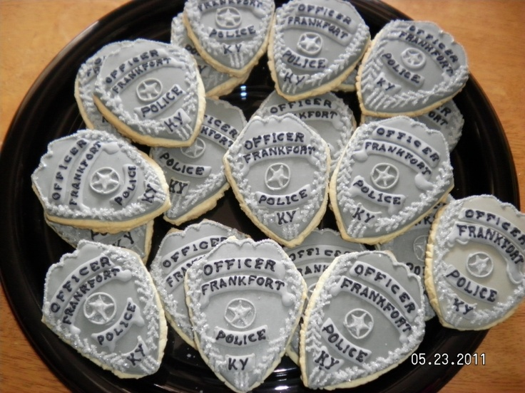 If I ever graduate a police academy again, I want these.