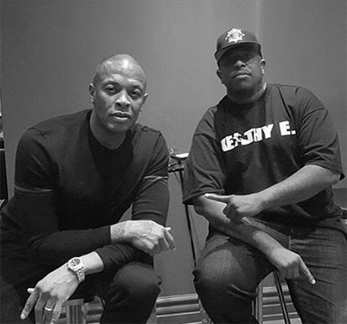 Dr. Dre and DJ Premier Are Cooking Up Magic