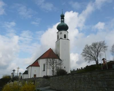 Prackenbach-Moosbach, Pfarrkirche St. Johannes
