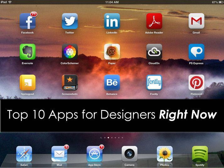 10 apps for designers  |  design shack