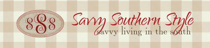 SAVVY SOUTHERN STYLE {MY FAVORITE 5}