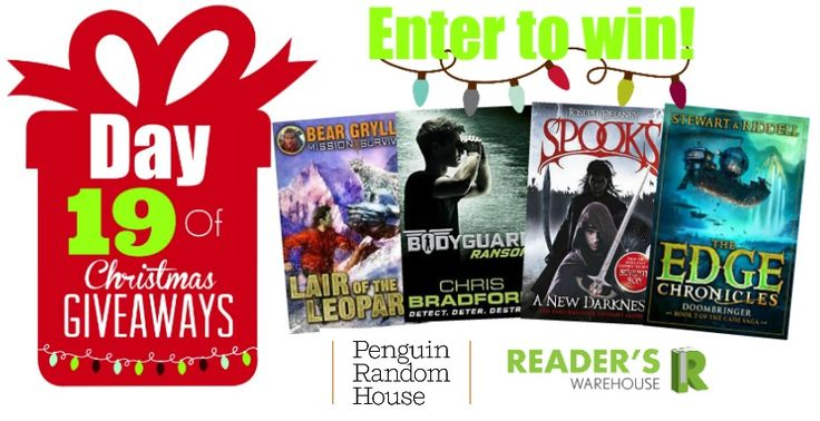 Day 19 Hamper from @PenguinBooksSA is the perfect hamper for the adventure loving youngster in your life. Get your entries in here: bit.ly/1P2ZhHl