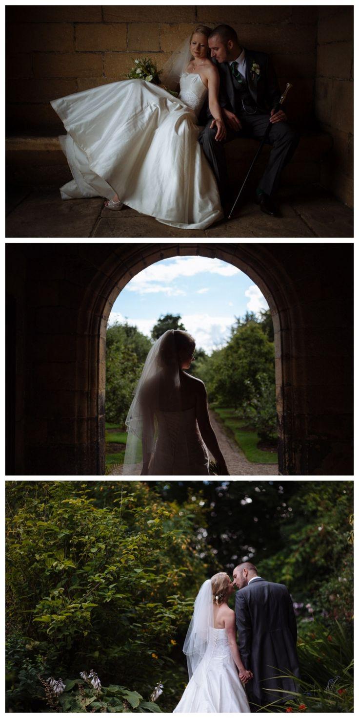 wedding reception venues north yorkshire%0A Bride  u     Groom at East Riddlesden Hall