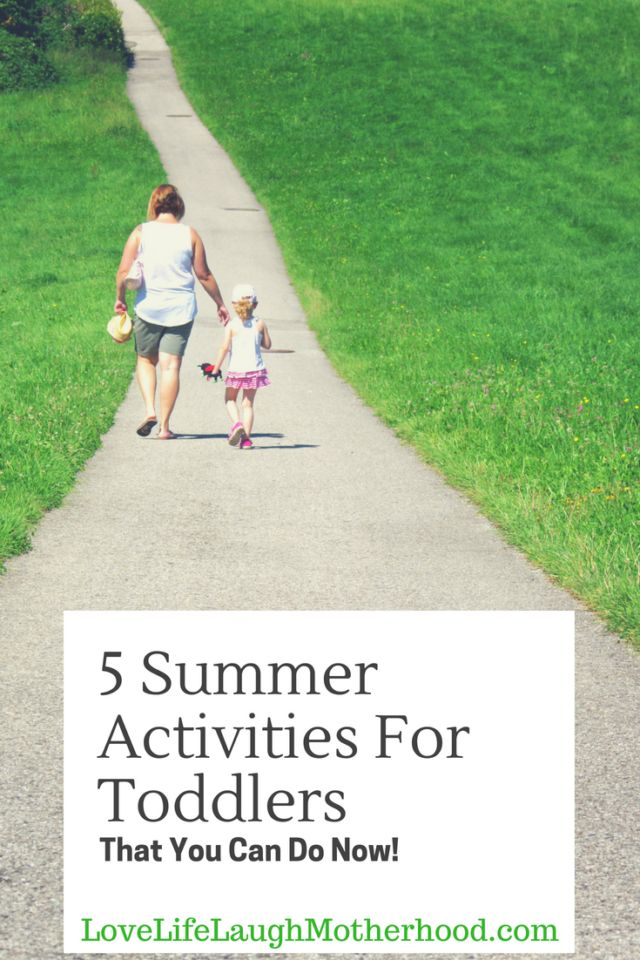 5 Fun Summer Activities For Toddlers You Can Do Now