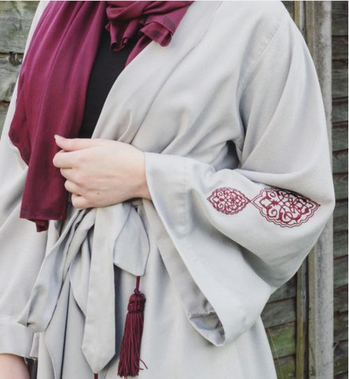 hijab and abaya image More