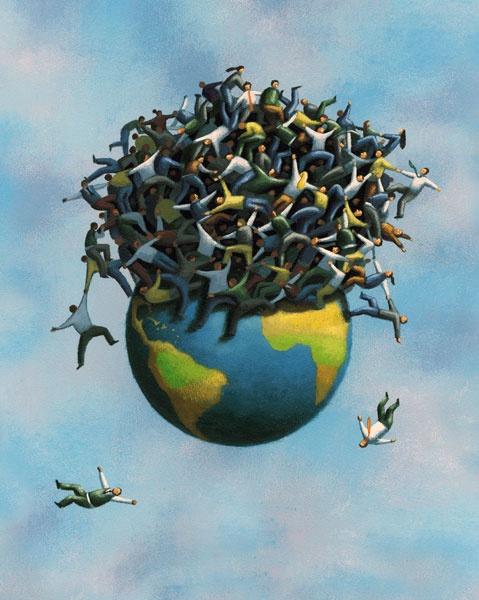 Population Overload by James Fryer