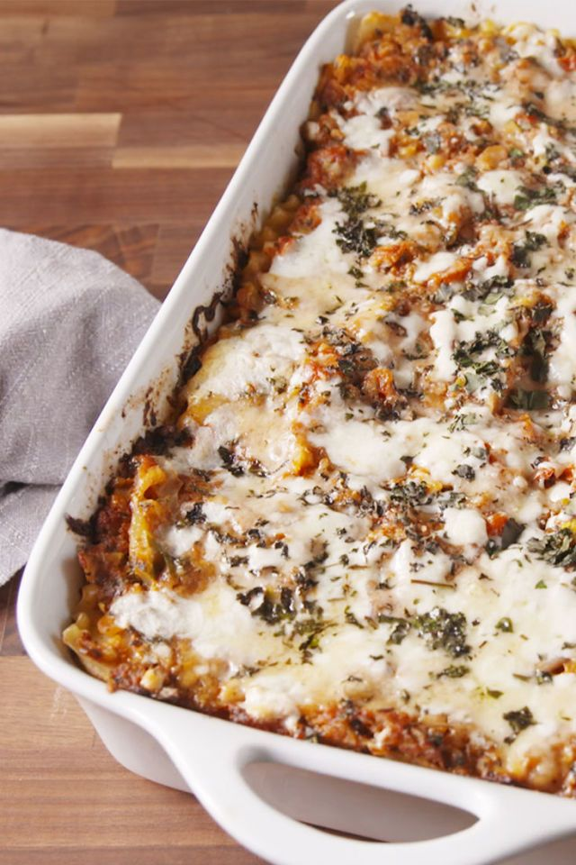 Guy Fieri's Fire-Roasted Lasagna Is A Powerful Tribute To His Late Sister  - Delish.com