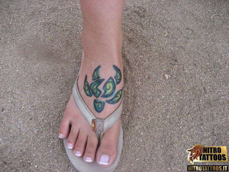 tatuaggio tartaruga maori