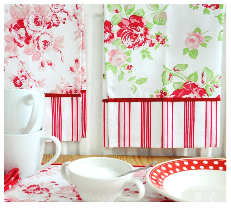 Tea Towel Kitchen Curtains: 49 Best Images About ϸ� Tanya Whelan ϸ� On Pinterest