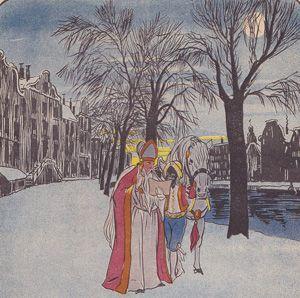 De reis van St. Nicolaas (G. L. Kroes)