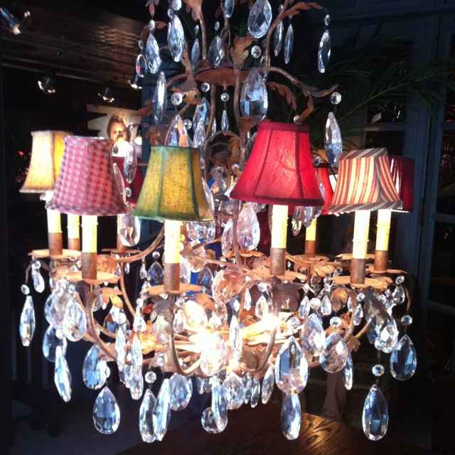 Chandelier At Hollister Shop Brighton