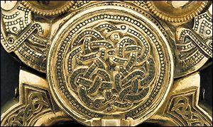 Belt Buckle from Sutton Hoo (cir 625 CE)