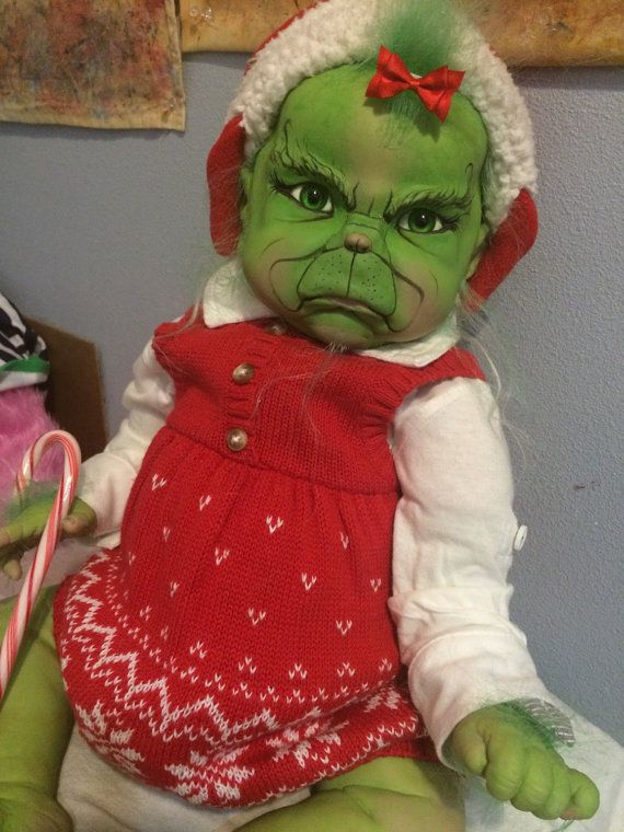 reserved for grinch balance deposit very grumpy grinch reborn baby kit unless you for sure want the same sleeping or awake grinch please the grinch costume - Baby Grinch Halloween Costume