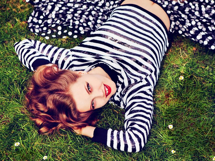 Lindsey Wixson by Ellen von Unwerth for Vogue Russia July 2015.