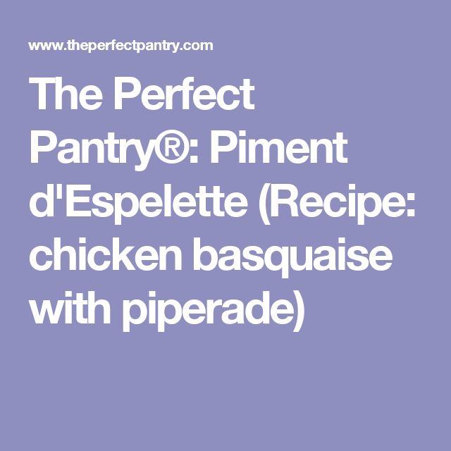 piment farci recipe for chicken