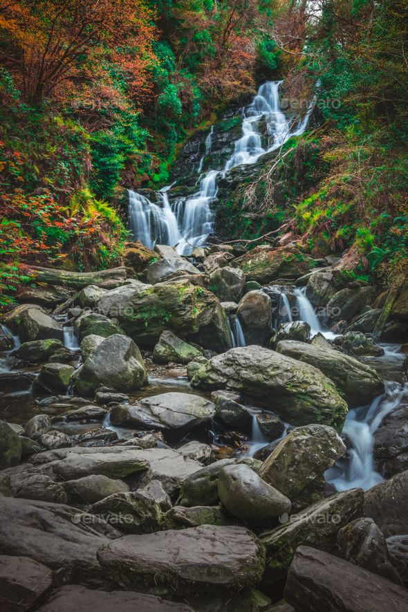 Beautiful Torc waterfall - Stock Photo - Images Download here : https://photodune.net/item/beautiful-torc-waterfall/20094437?s_rank=213&ref=Al-fatih