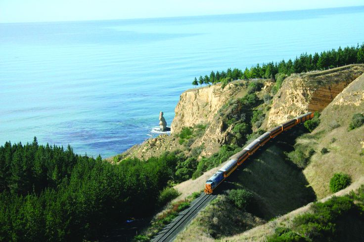Trovolo - Taieri Gorge Railway #seasider #train #scenery #amazing #NewZealand #travel #photography #beach
