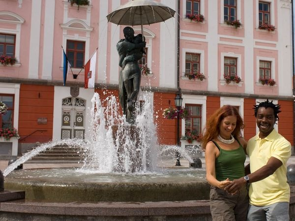 favorite water fountain EVER! Tartu, Estonia #nationalgeographic