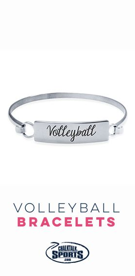 Sparkle and shine in one of our #volleyball bracelets!