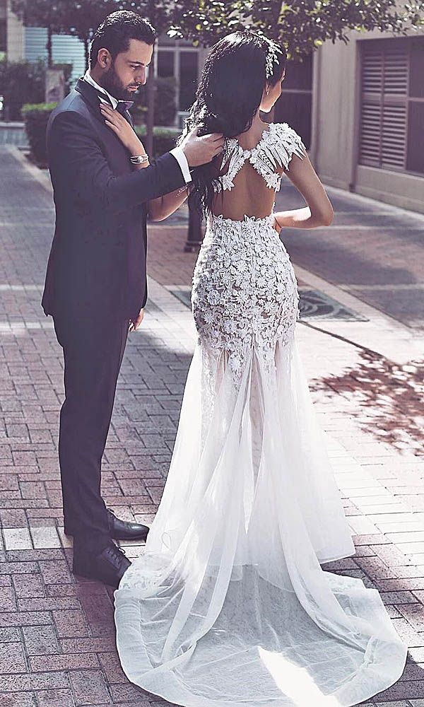 30 Wedding Dresses That Are So Sexy ❤ See more: http://www.weddingforward.com/sexy-wedding-dresses-ideas/ #wedding #dresses